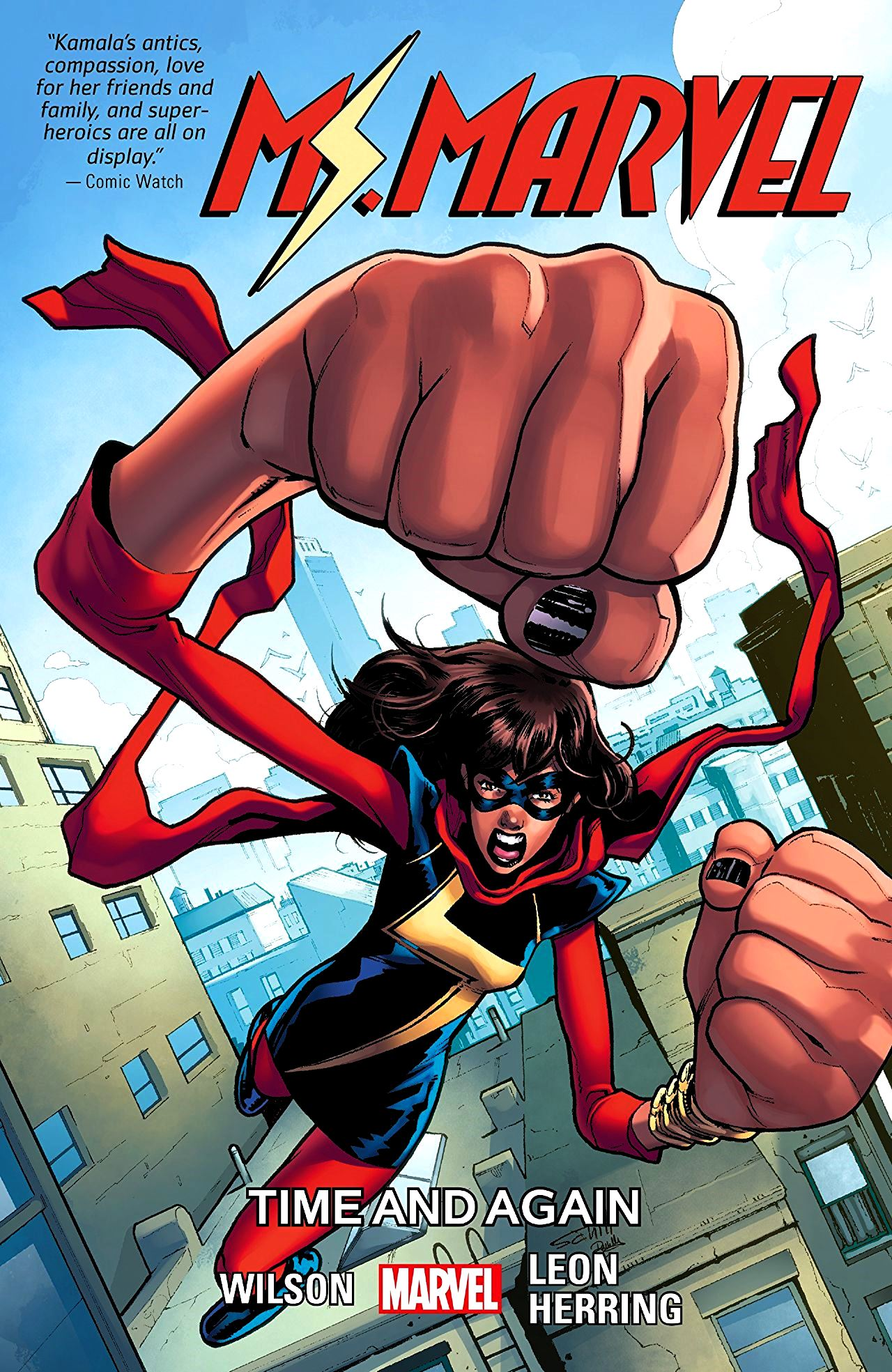 Ms Marvel (2015) Volume 10: Time and Again