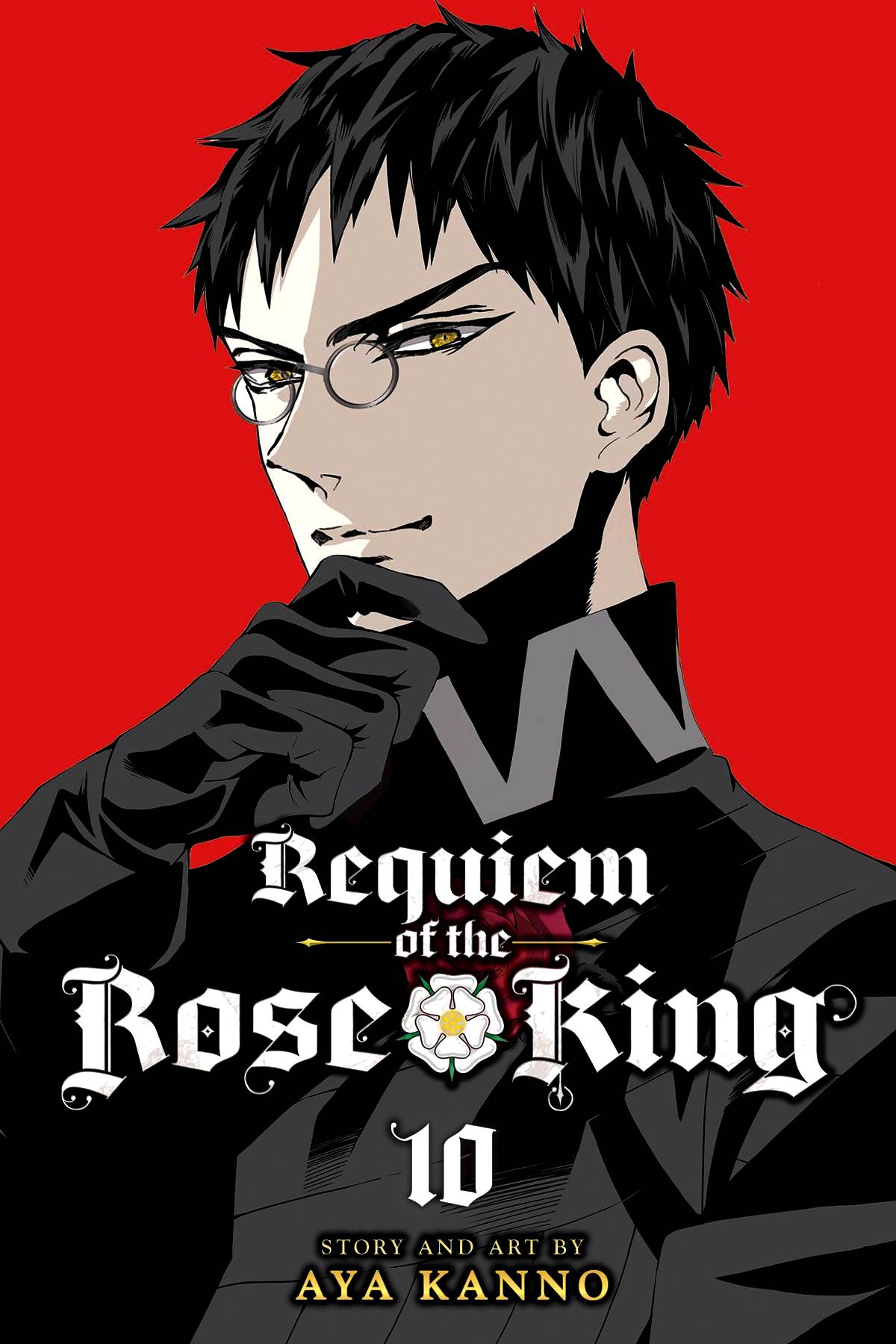 Requiem of the Rose King Volume 10