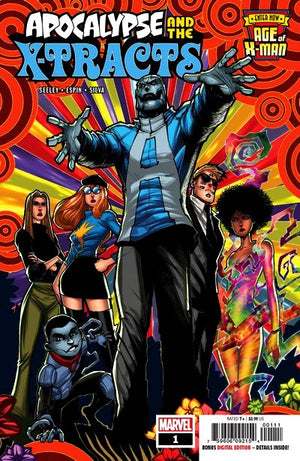 Age of X-Man: Apocalypse and the X-Tracts (2019) #1 (of 5)