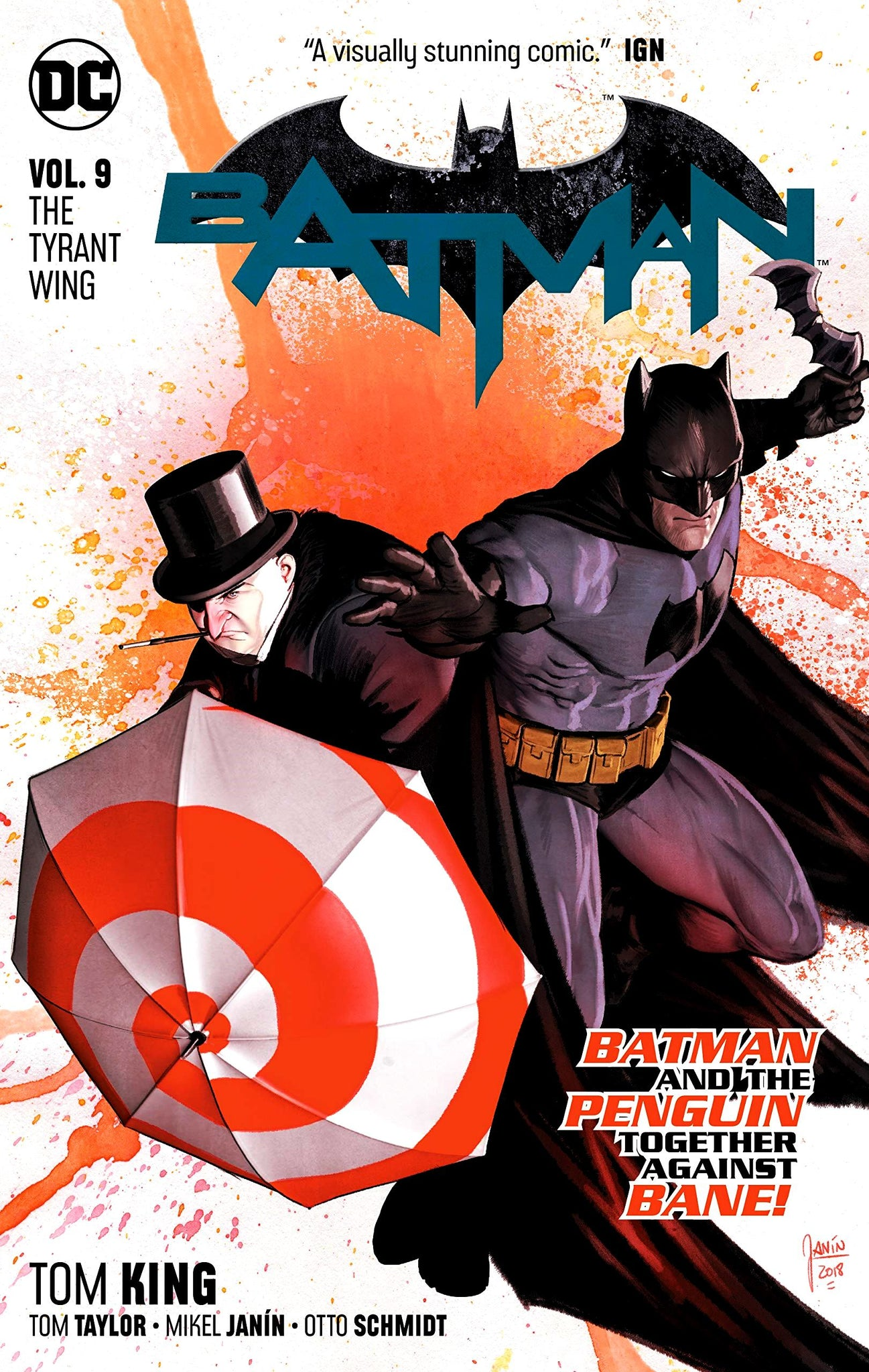 Batman (DC Universe Rebirth) Volume 9: The Tyrant Wing