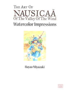 Art of Nausicaa of the Valley of the Wind HC