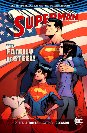 Superman - The Rebirth Deluxe Edition Book 4 HC
