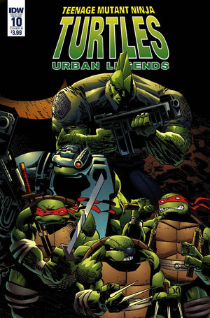 Teenage Mutant Ninja Turtles: Urban Legends #10 Frank Fosco & Erik Larsen Cover