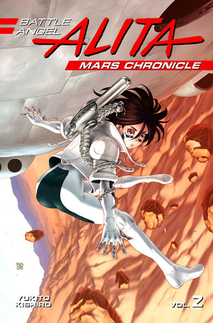 Battle Angela Alita: Mars Chronicles Volume 2