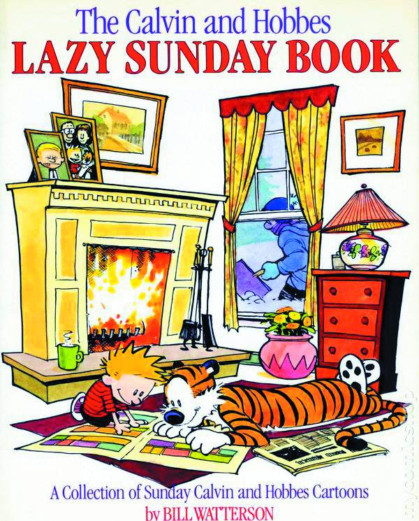 Calvin and Hobbes: Lazy Sunday Book