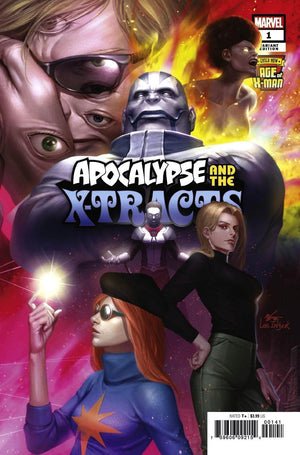 Age of X-Man: Apocalypse and the X-Tracts (2019) #1 (of 5) In-Hyuk Lee Connecting Cover