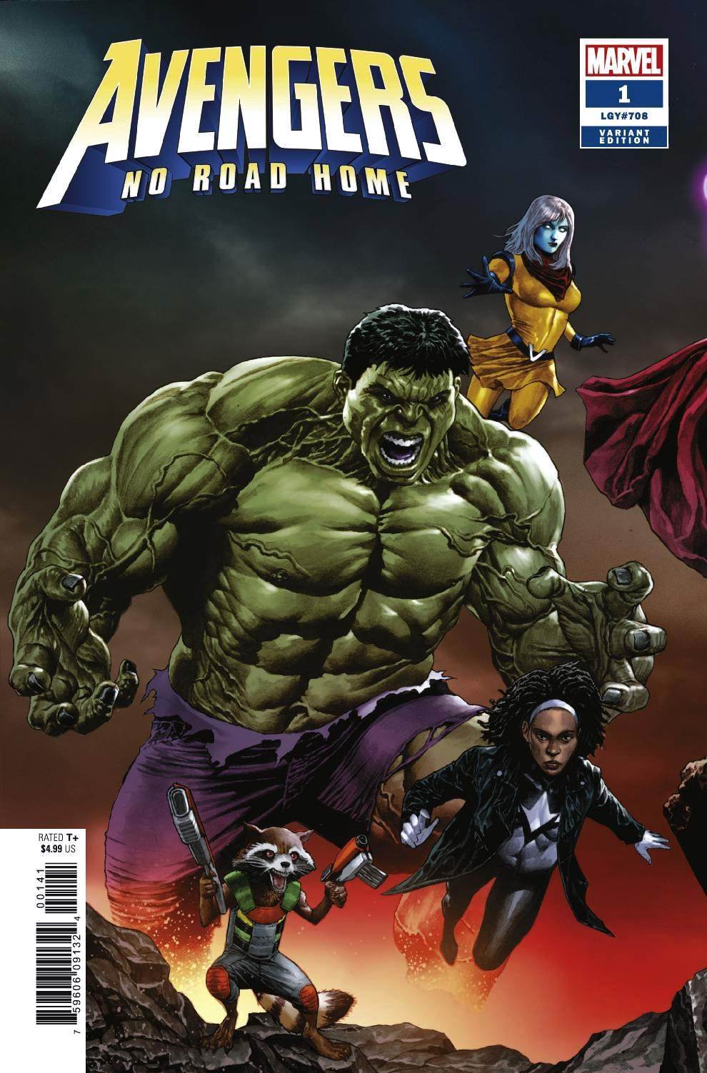 Avengers: No Road Home (2019) #01 (of 10) Mico Suayan Connecting Cover
