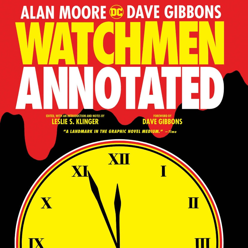 Watchmen - The Annotated Edition HC