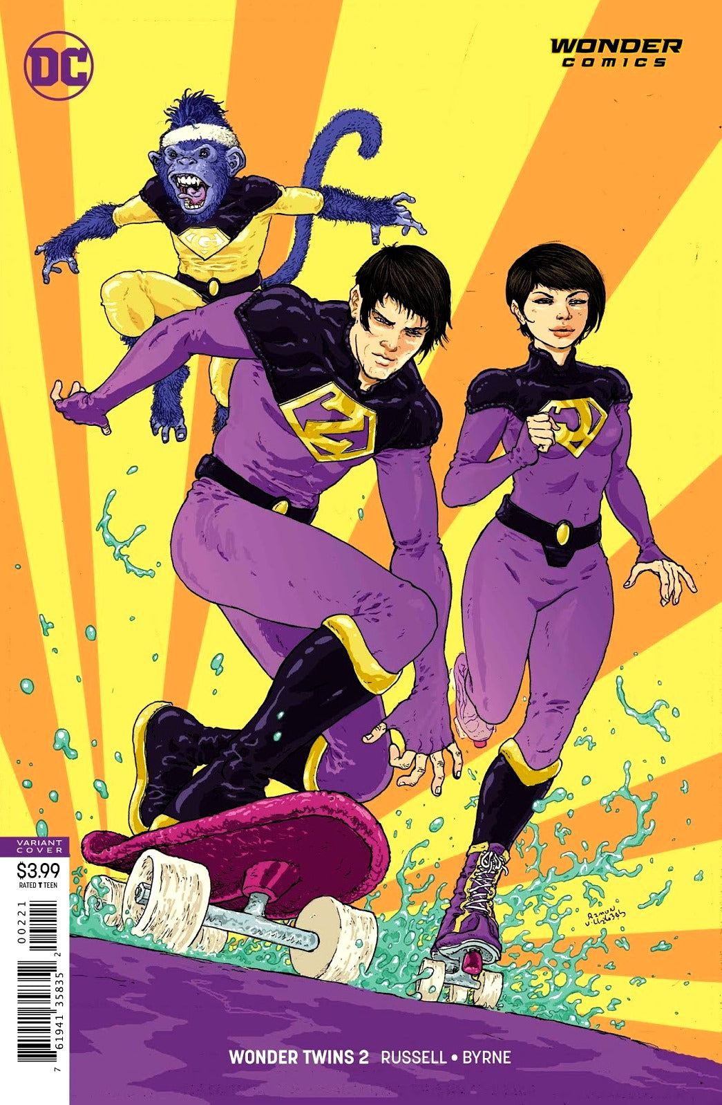 Wonder Twins (2019) #2 (of 6) Variant