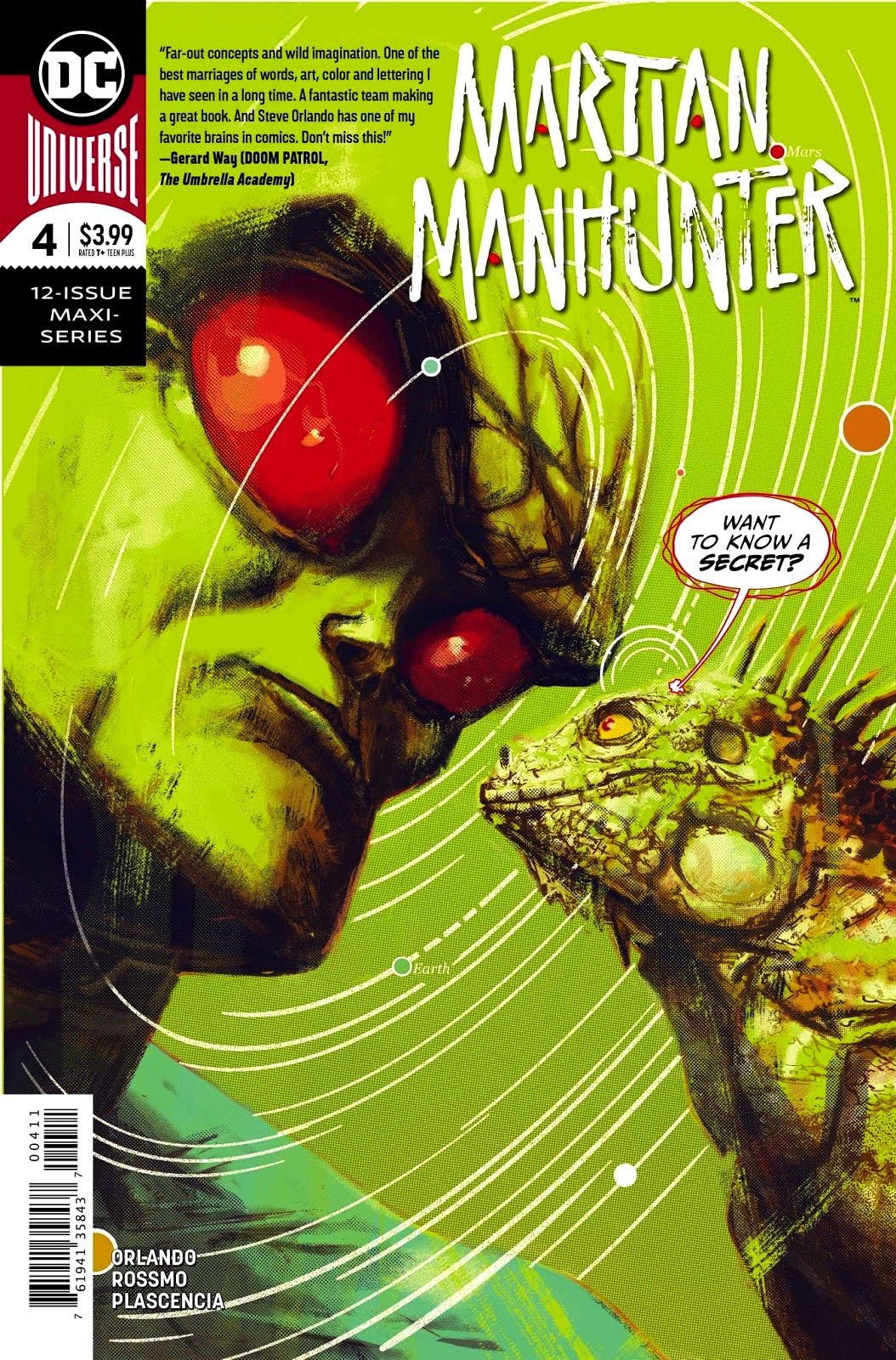 Martian Manhunter (2018) #4 (of 12)