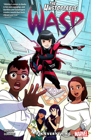 Unstoppable Wasp (2018): Fix Everything