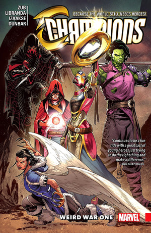 Champions (2016) Volume 5: Weird War One