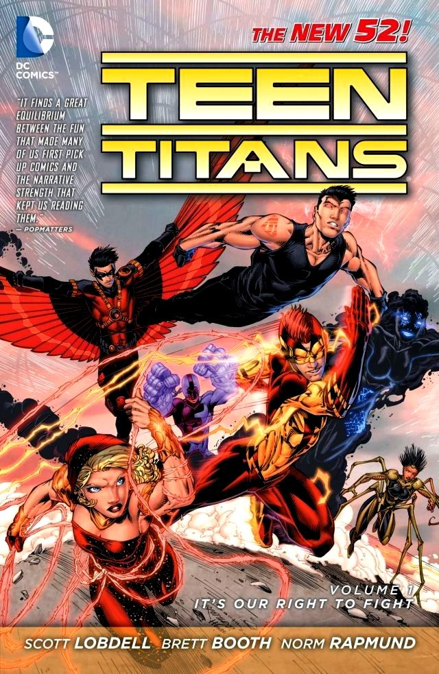 Teen Titans (The New 52) Volume 1: It's Our Right to Fight
