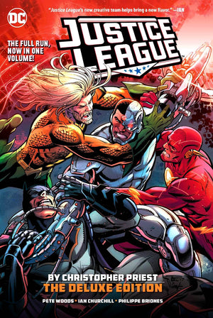 Justice League by Christopher Priest - The Deluxe Edition HC