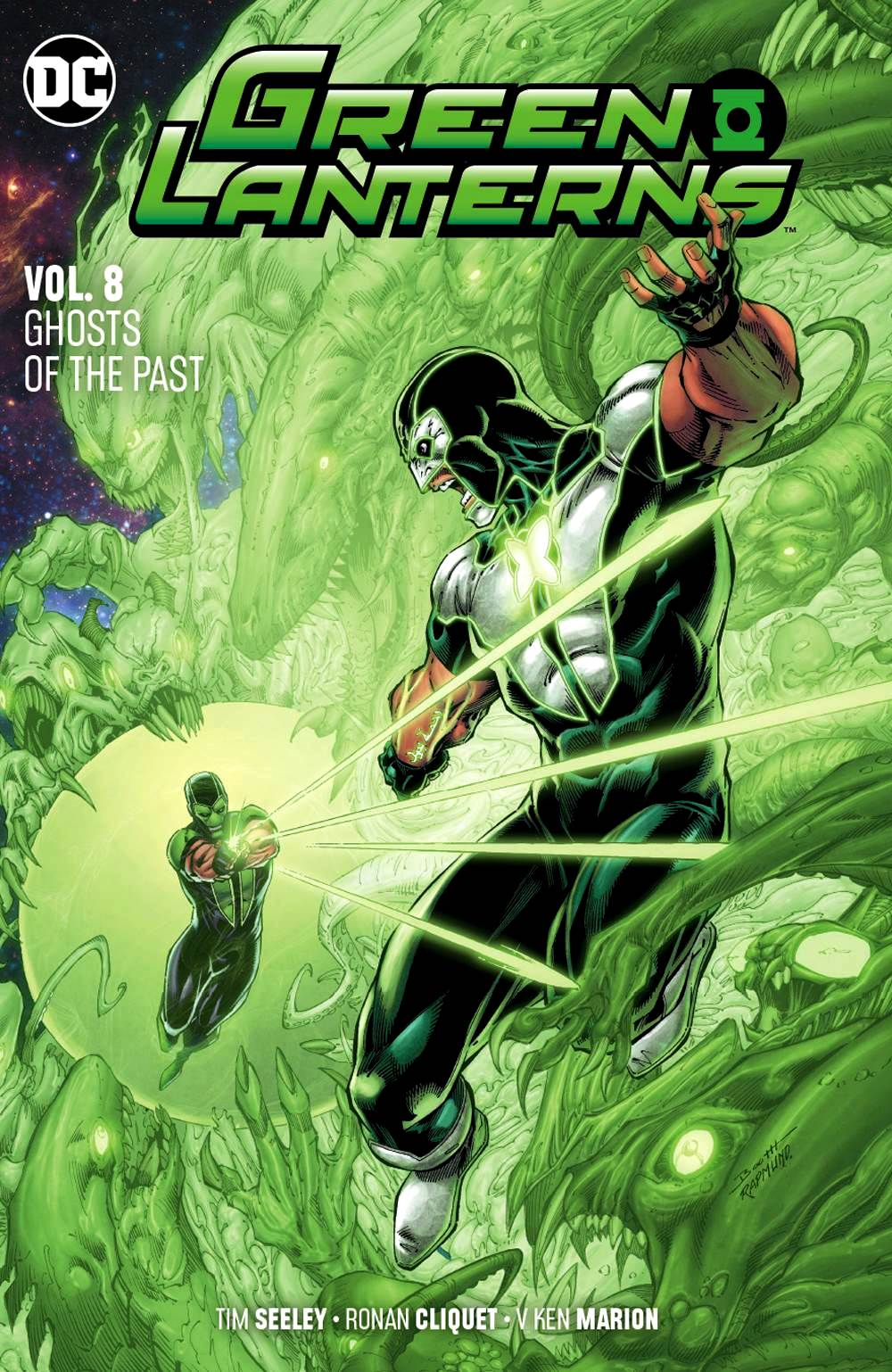 Green Lanterns (DC Universe Rebirth) Volume 8: Ghosts of the Past