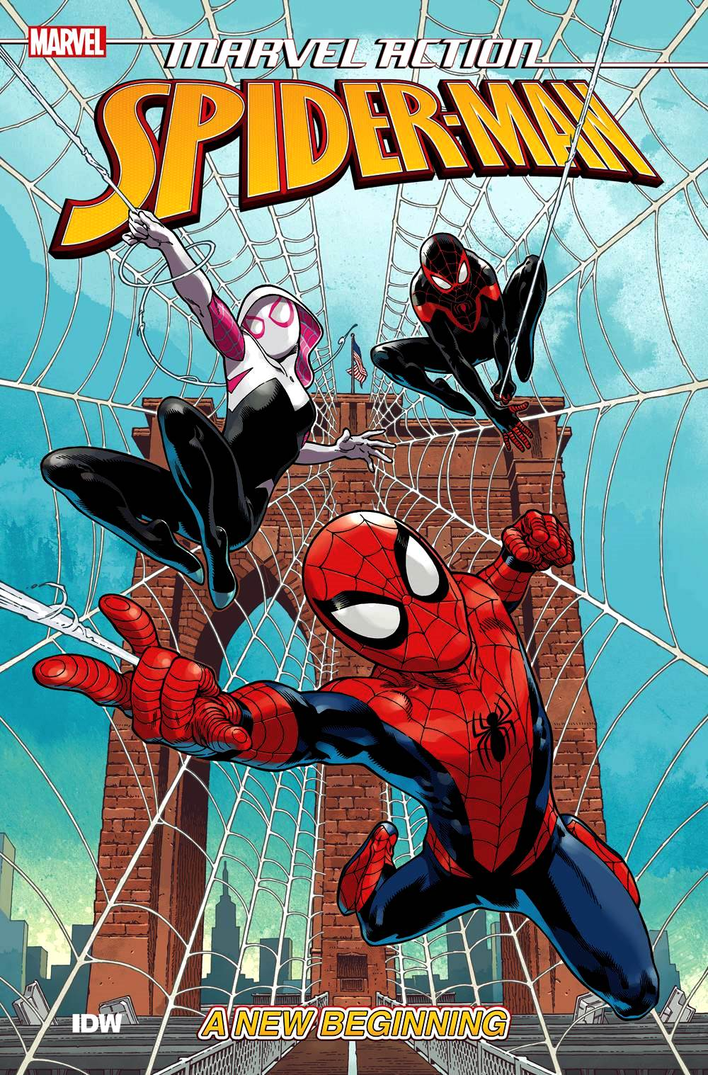 Marvel Action: Spider-Man (2018) Book 1 - A New Beginning