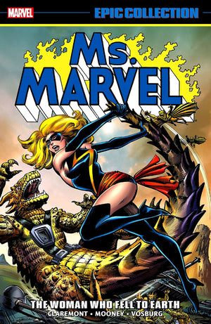 Ms Marvel: The Woman Who Fell to Earth (Epic Collection)