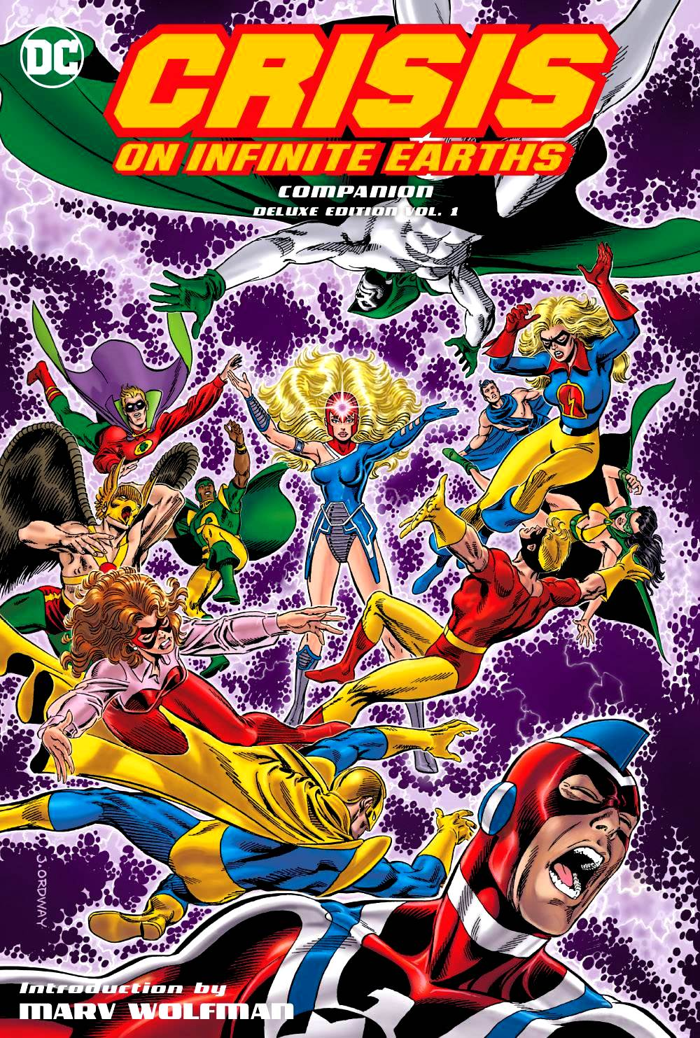 Crisis on Infinite Earths Companion - Deluxe Edition HC