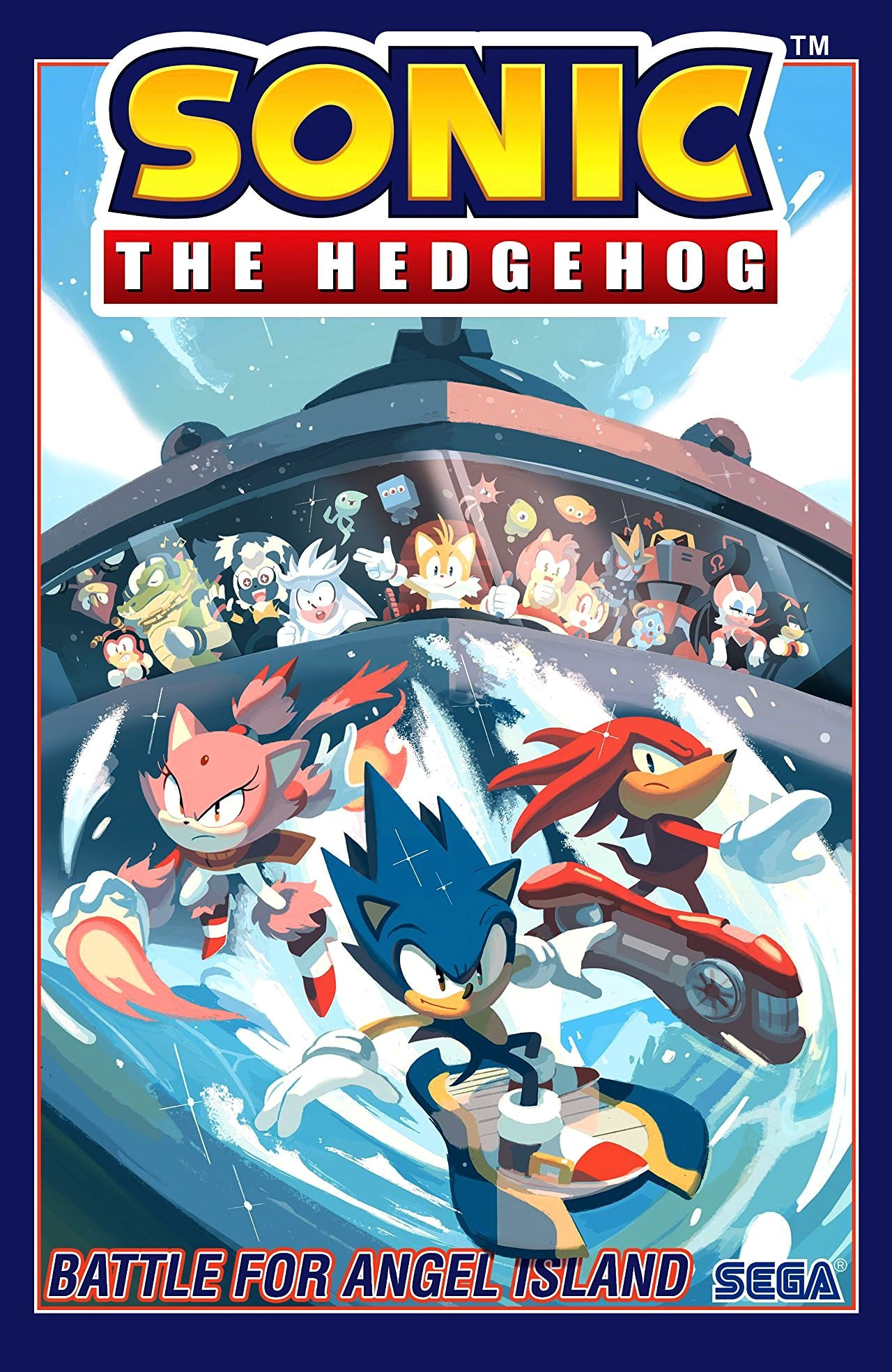 Sonic the Hedgehog (2018) Volume 3: Battle for Angel Island