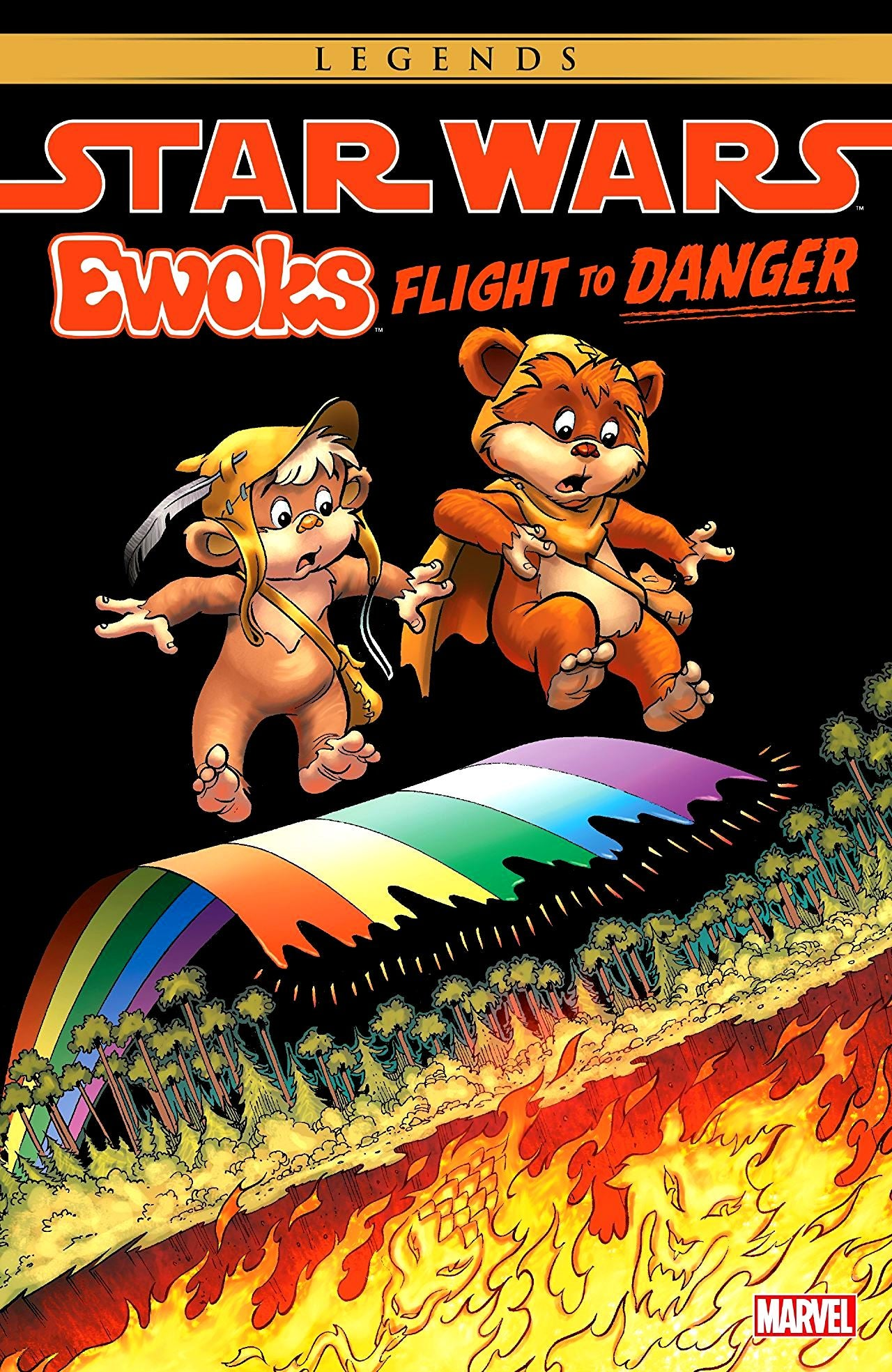 Star Wars: Ewoks - Flight to Danger