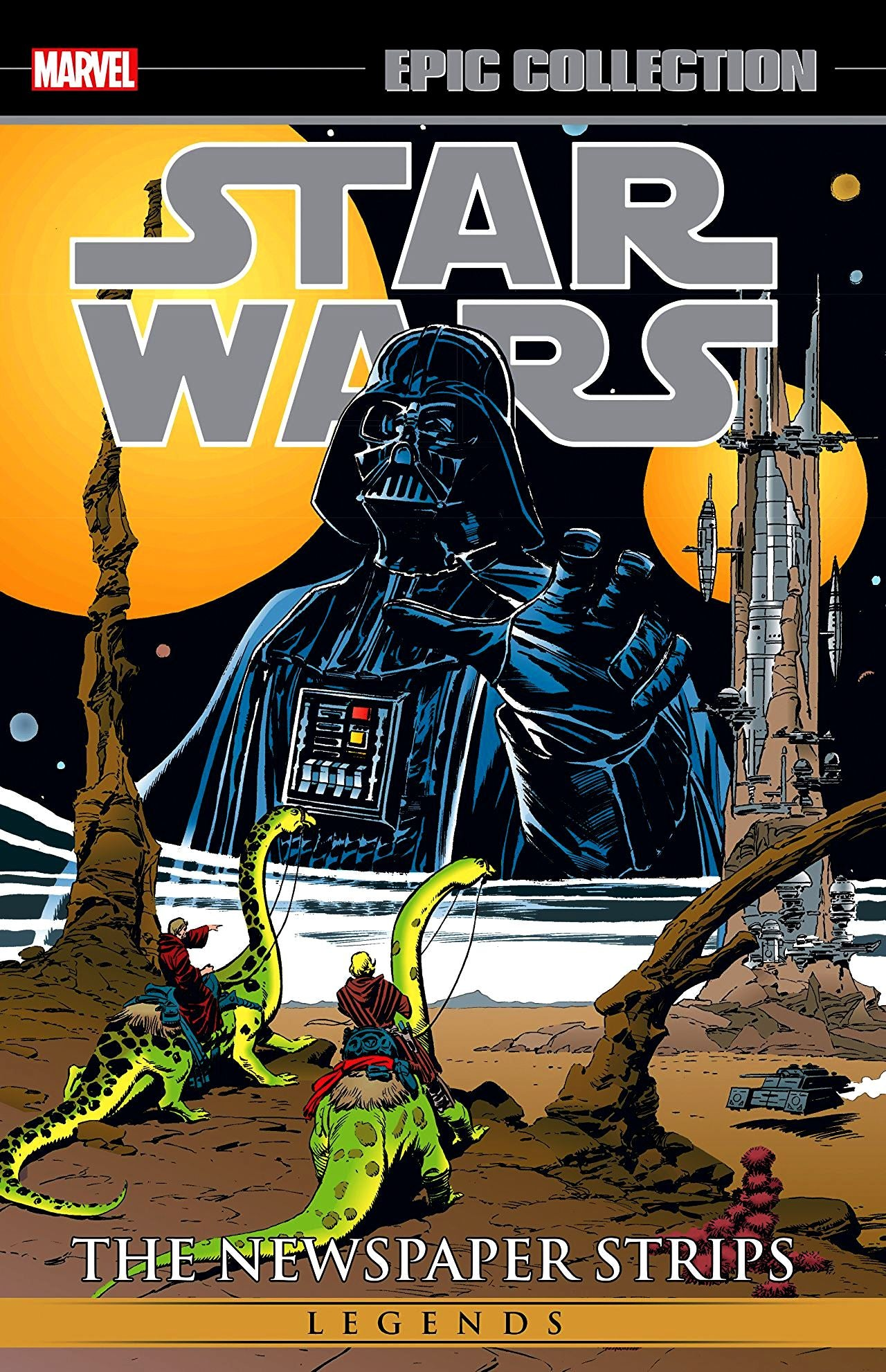 Star Wars Legends: The Newspaper Strips Volume 2 (Epic Collection)