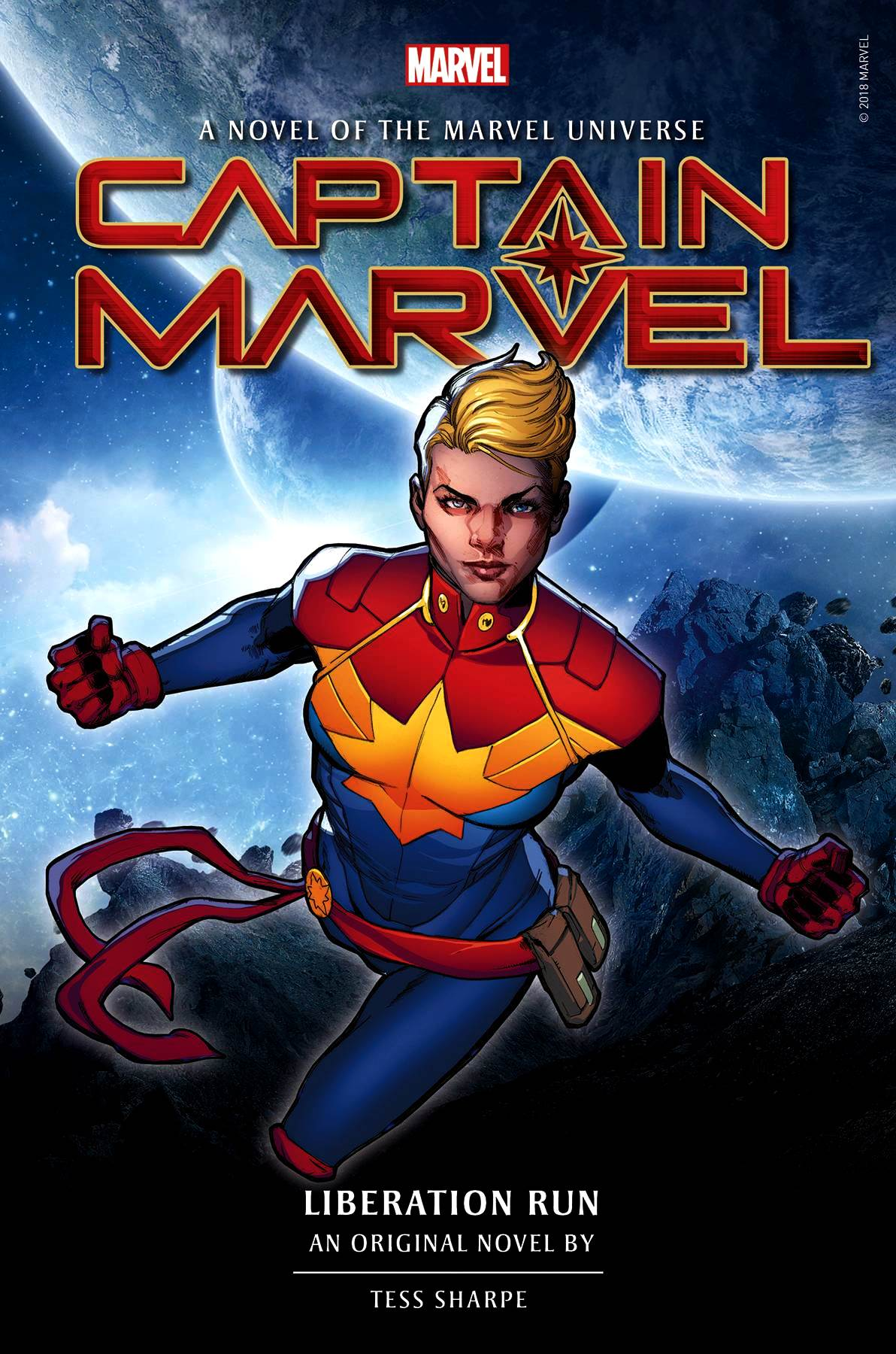 Captain Marvel: Liberation Run - A Novel of the Marvel Universe HC