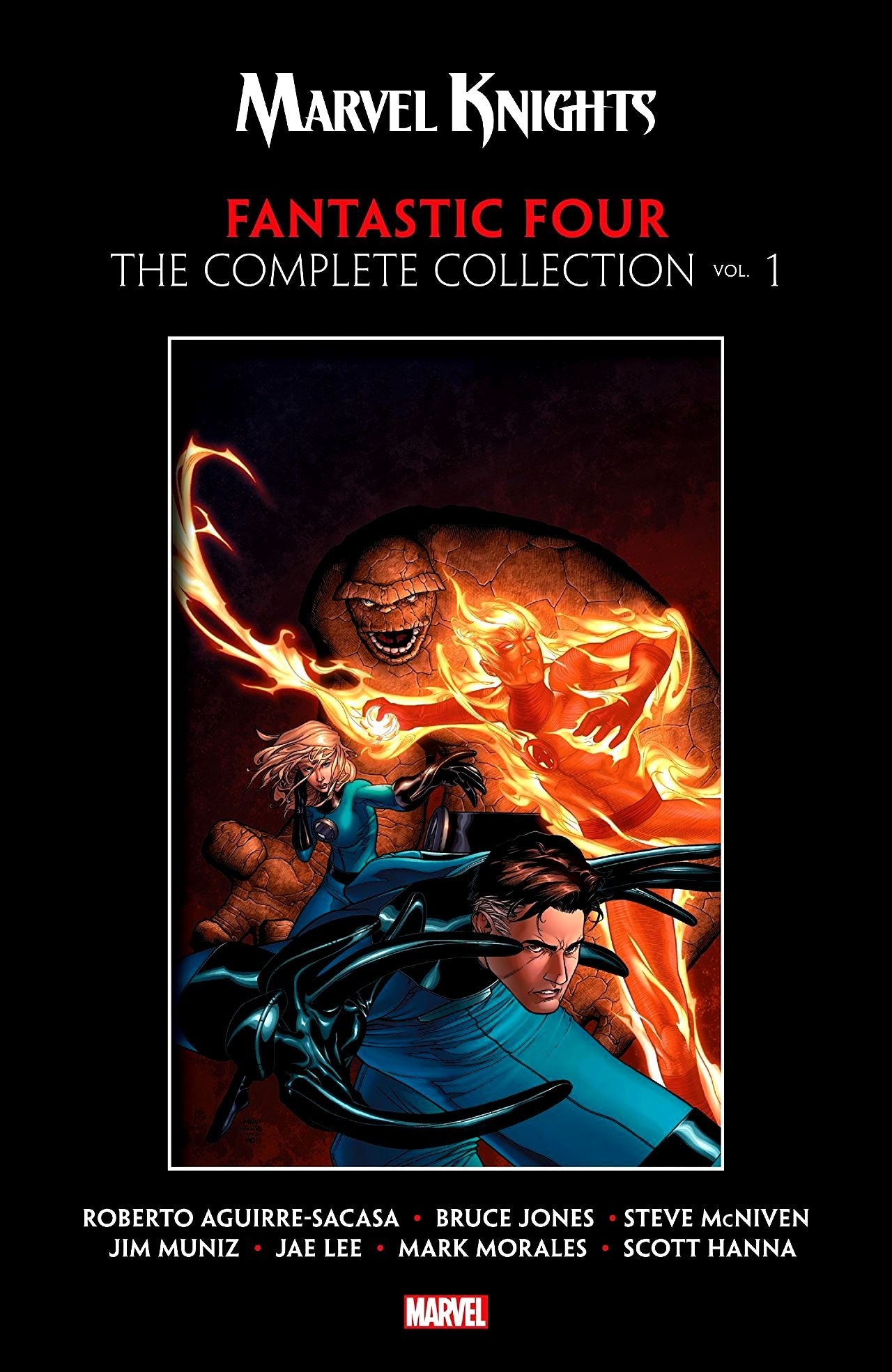 Marvel Knights: Fantastic Four - The Complete Collection Volume 1
