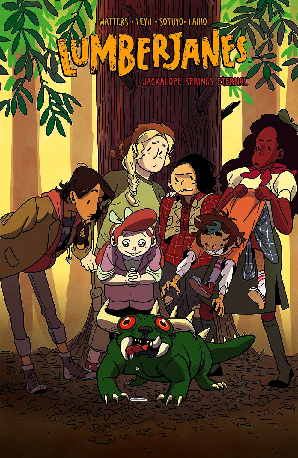Lumberjanes Volume 12: Jackalope Springs Eternal