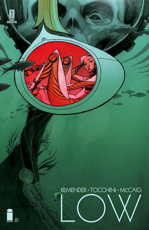 Low (2014) #21 Andrew Robinson Cover