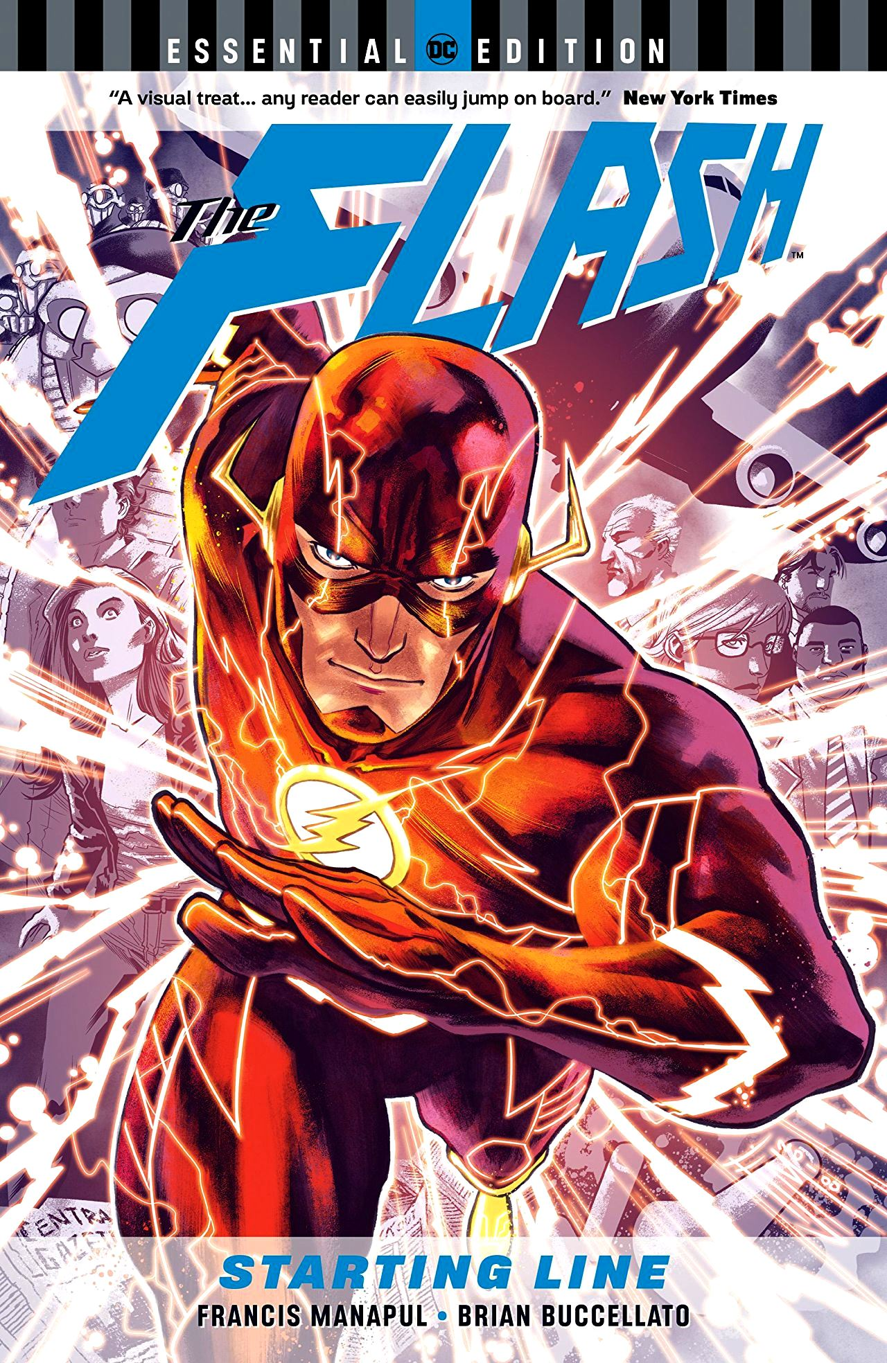 Flash: Starting Line - DC Essential Edition