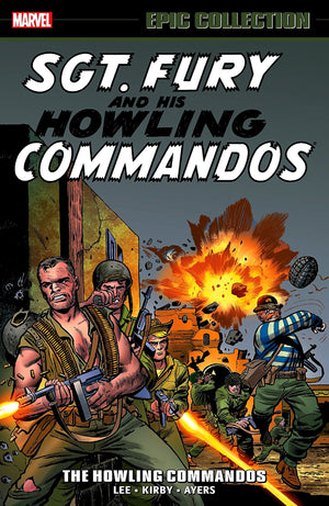 Sgt. Fury and his Howling Commandos: The Howling Commandos