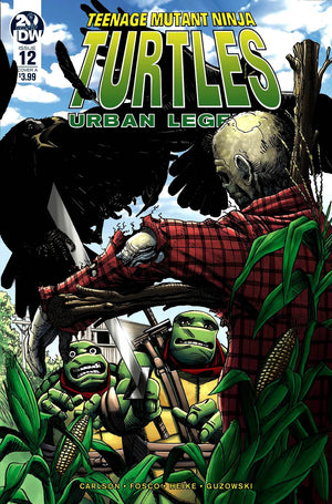 Teenage Mutant Ninja Turtles: Urban Legends #12