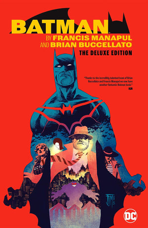 Batman by Francis Manapul and Brian Buccellato - The Deluxe Edition HC