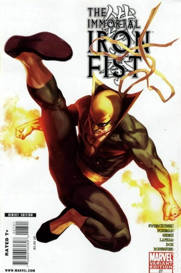 Immortal Iron Fist #27 Variant