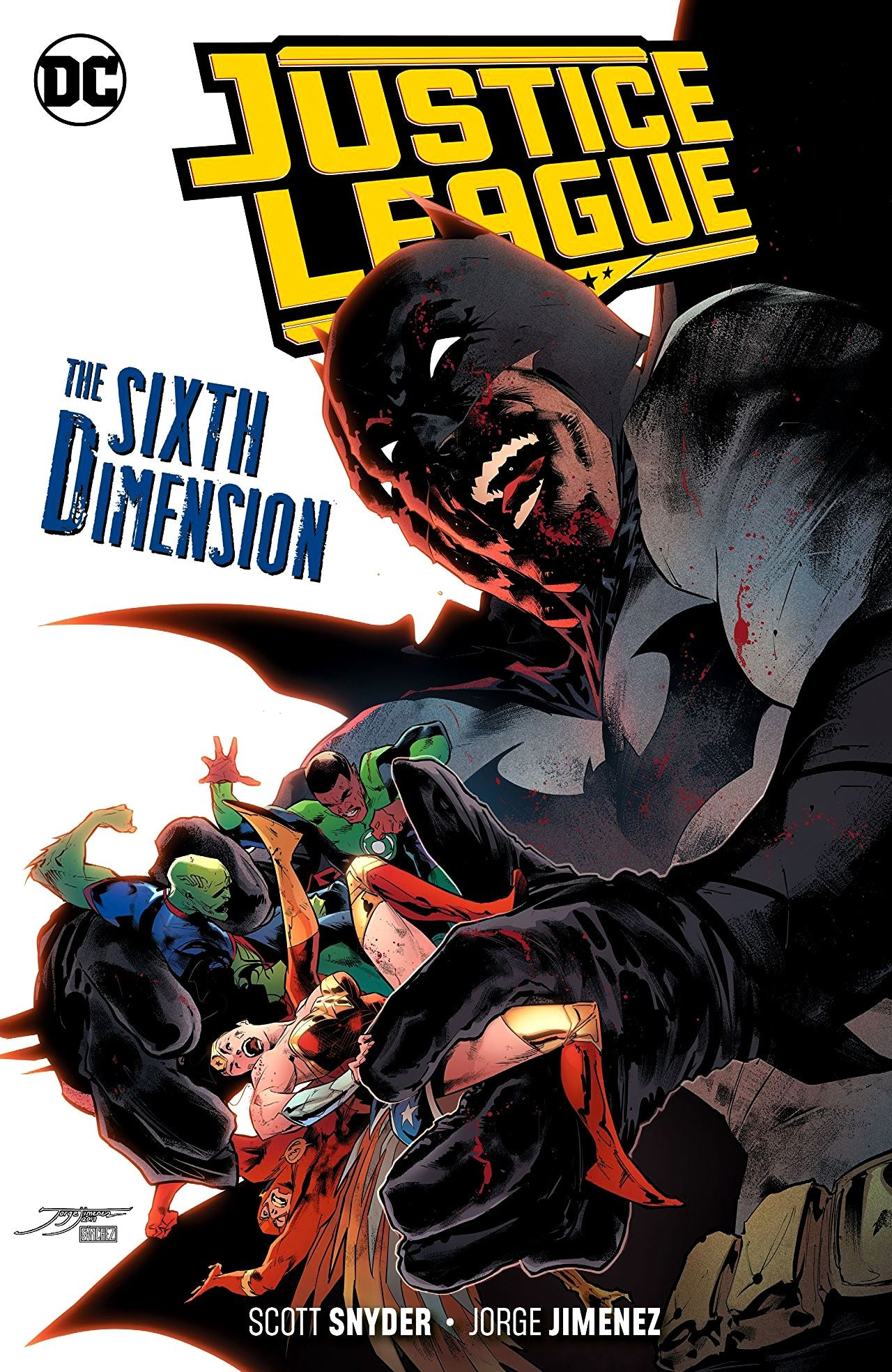 Justice League (2018) Volume 4: The Sixth Dimension