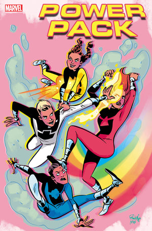 Power Pack: Grow Up (2019) #1 (One-Shot) Elsa Charretier Cover