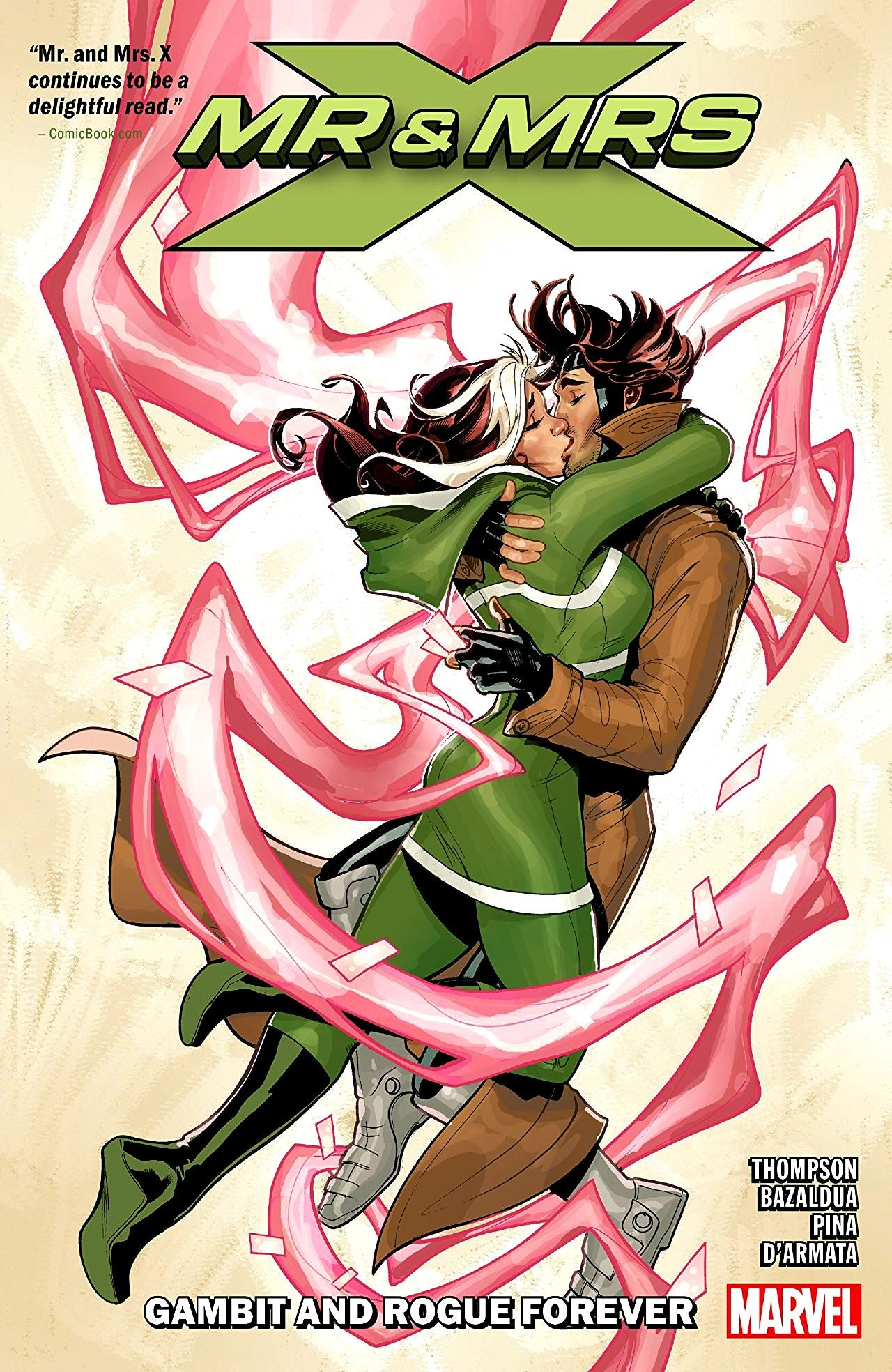 Mr and Mrs X (2018) Volume 2: Gambit and Rogue Forever