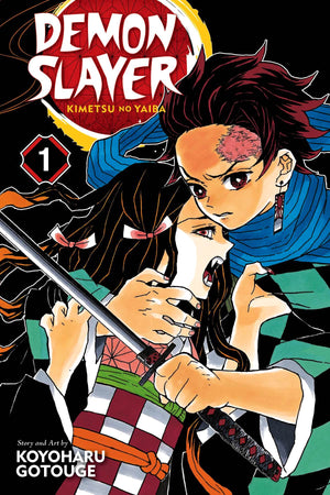 Demon Slayer: Kimetsu No Yaiba Volume 01
