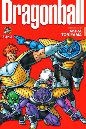 Dragon Ball 3-in-1 Edition Volume 08