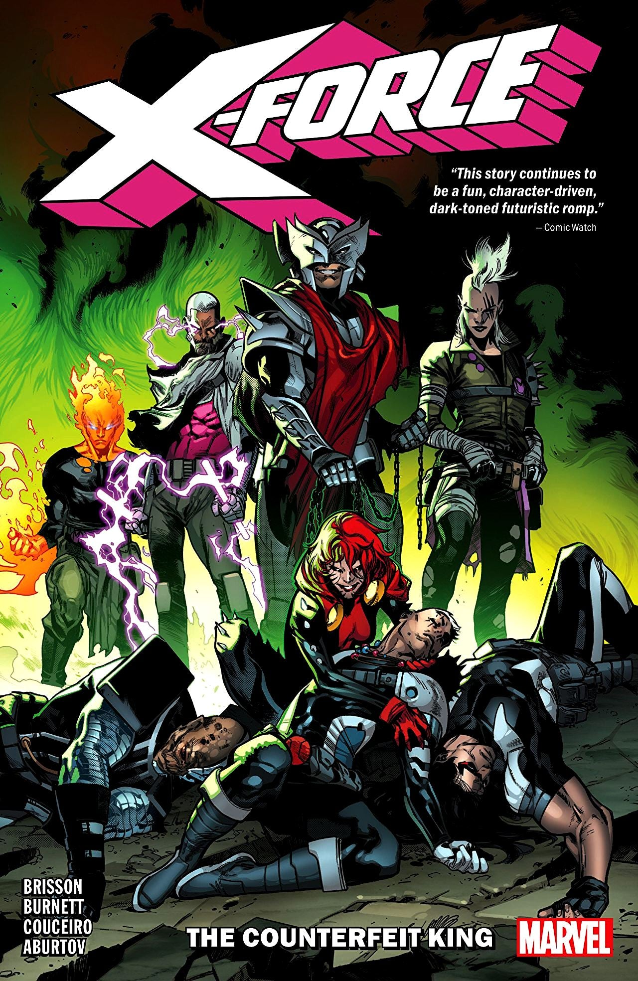 X-Force (2018) Volume 2: The Counterfeit King