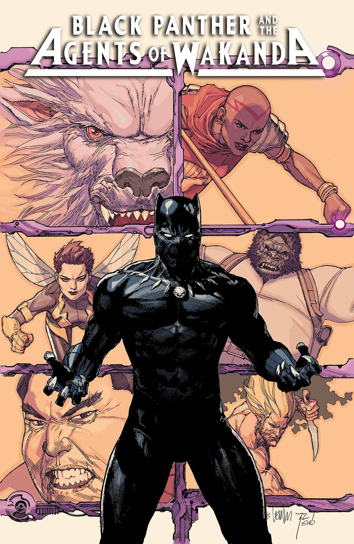 Black Panther and the Agents of Wakanda (2019) #1 Leinil Francis Yu Cover