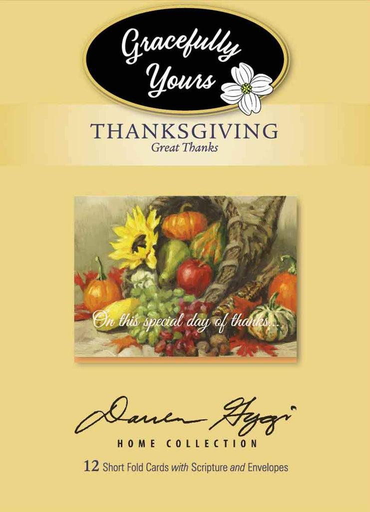 Great Thanks - Thanksgiving (12ct) - GY-233