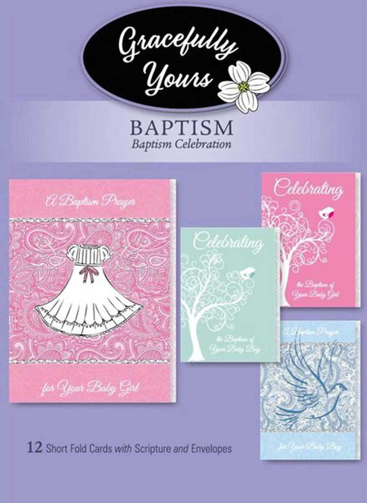 Baptism Cards (12 ct) - GY-143