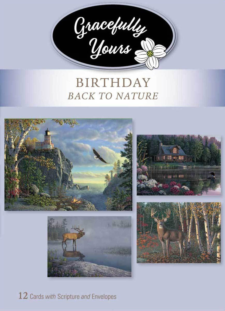 Back to Nature Birthday (12 ct) - GY-102