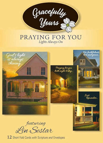 Praying for You Lights Always On (12 ct) - GY-136
