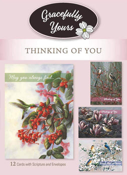 Grace Notes Thinking of You (12 ct) - GY-230