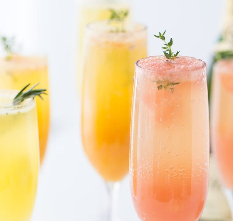 Drinkmate Grapefruit Mimosas