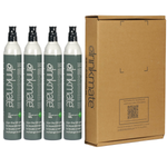 60L CO2 Carbonating Cylinders (14.5 oz) - 4 Pack Refill