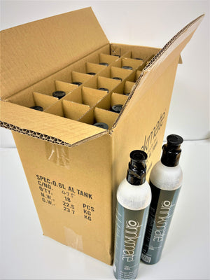 Master Carton 60L CO2 Cylinders - 18 pack