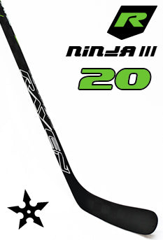 Raven Ninja III Junior Hockey Stick 20 Flex Left C88 - Go-T-Hockey Ltd.